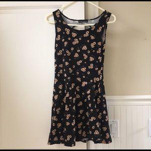 Brandy sunflower dress